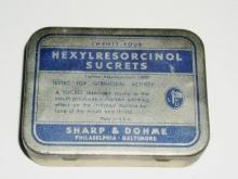 Hexylresorcinol Sucrets Tin