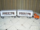 Ertl Preston Double Semi Truck