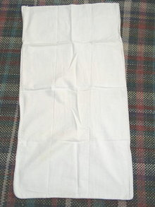Vintage Feedsacks, Muslin, Plain  -  FSK