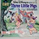 Three Little Pigs,  Disney Childs Record and Book