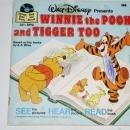 Winnie the Pooh and Tigger Too,  Disney Childs Record and Book