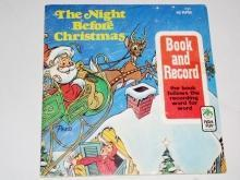 The Night Before Christmas,  Peter Pan Childs Record and Book