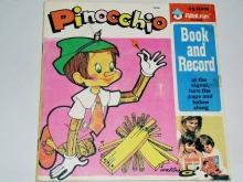 Pinocchio,  Peter Pan Childs Record and Book