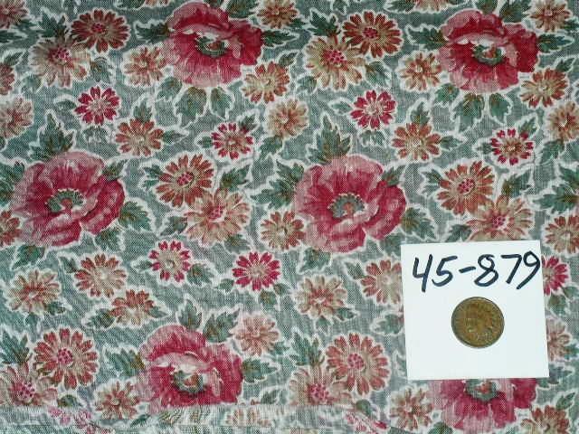 Vintage Fabric 1830