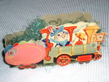 Easter Train Paper Candy Container
