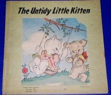 The Untidy Little Kitten Children's Book