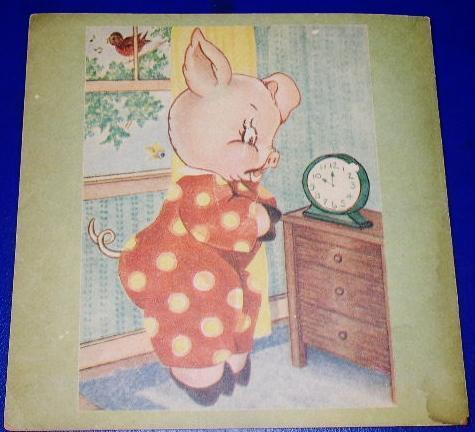 The Pig Who Liked To Sleep Children's Book