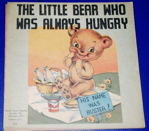 The Little Bear Who Was Always Hungry Children's Book