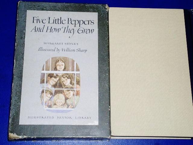Five Little Peppers and How They Grew Book