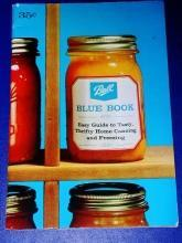 Ball Blue Book Canning Guide  - CK