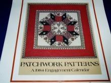 Patchwork Patterns 1984 Engagement Calendar