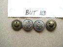 Buttons - Metal Eagle Emblem