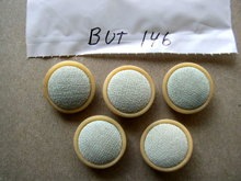 Buttons - Celuloid & Fabric