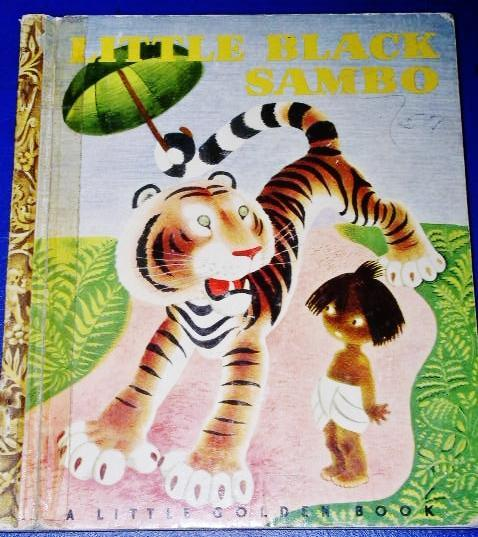 Little Black Sambo - Little Golden Book - First Printing