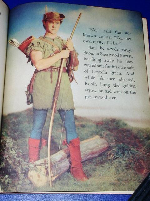 Robin Hood - Little Golden Book - First Printing