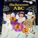 Halloween ABC, Little Golden Book - 1st Printing