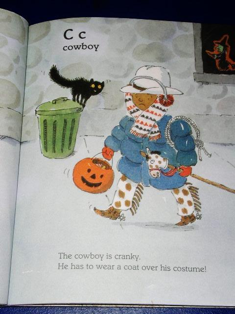 Halloween ABC, Little Golden Book - 1st Printing