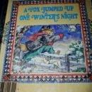 A Fox Jumped Up One Winter's Night, Little Golden Book - 1st Printing