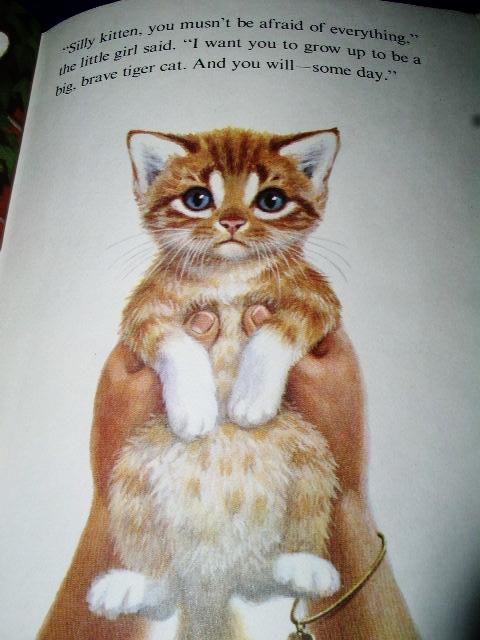 The Tiny, Tawny Kitten, Little Golden Book - 1st Printing