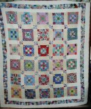 9 Patch in a Square Quilt  -  QLT