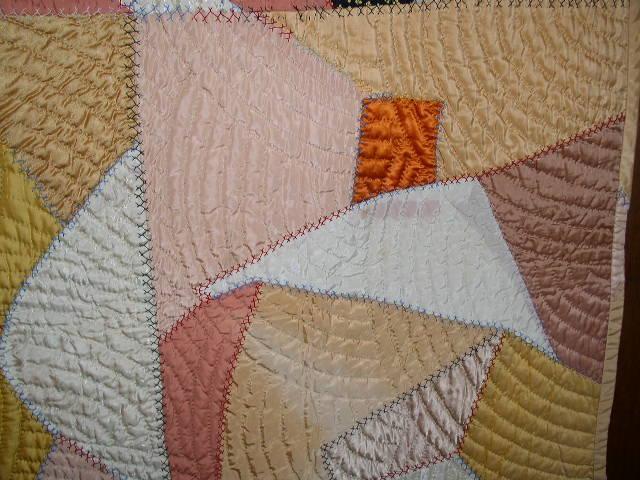 Cotton Sateen Crazy Quilt  -  QLT