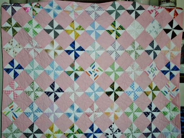 Pinwheel Quilt  -  QLT