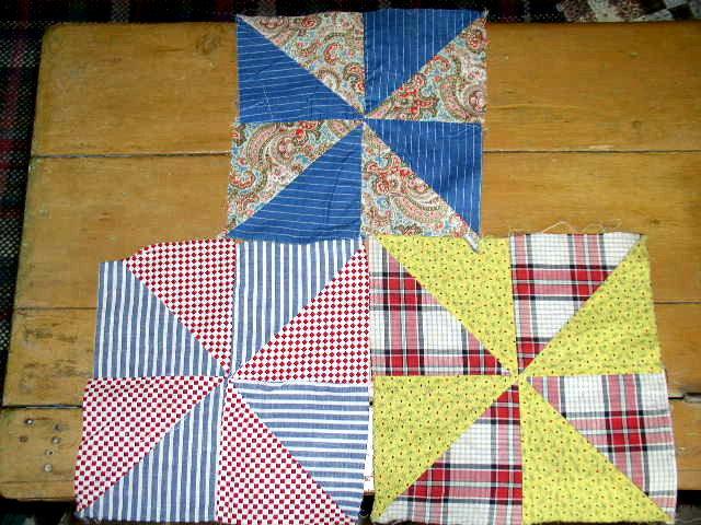 Pinwheel Quilt Blocks -  QB