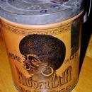 Nigger Hair Tobacco Pail w/cover