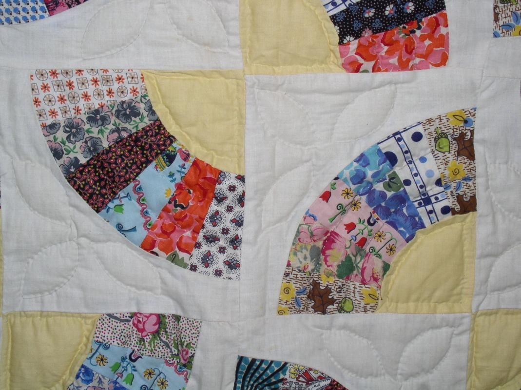Grandmotners Fan Quilt - QLT