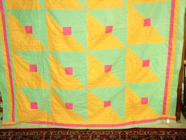 Log Cabin Quilt Top - QTP