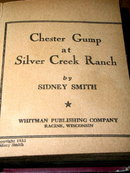 Chester Gump at Silver Creek Ranch - Big Little Book