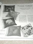 Needlecraft, The Home Arts,Magazine, 1935  -  MZ