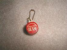 Jim Beam Coin Holder Keychain