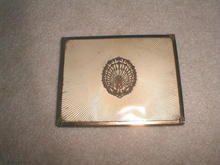 Brass & Celluloid Flat Cigarette Tin Cover