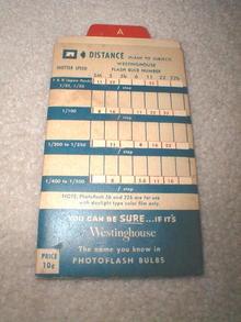 Westinghouse Rapid Flash Calculator