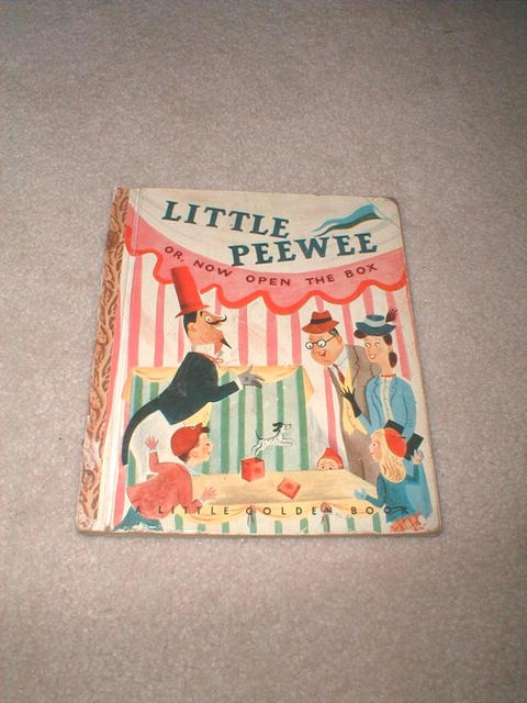 Little Peewee, Little Golden Book, Second Printing
