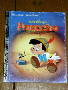 Pinocchio, Little Golden Book, Second Printing
