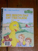 Big Bird's Day on the Farm, Little Golden Book, First Printing