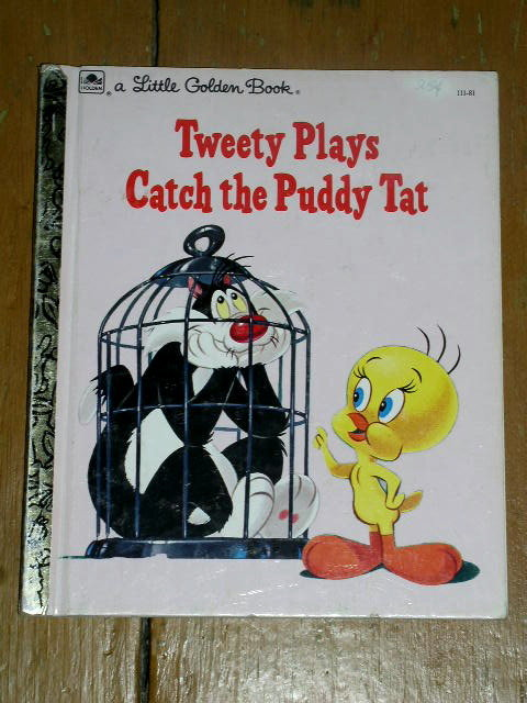 Tweety,  Little Golden Book, Second Printing