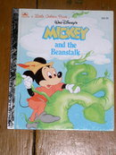 Mickey and the Beanstalk, Little Golden Book, First Printing