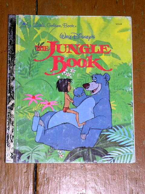 The Jungle Book, Little Golden Book, Second Printing