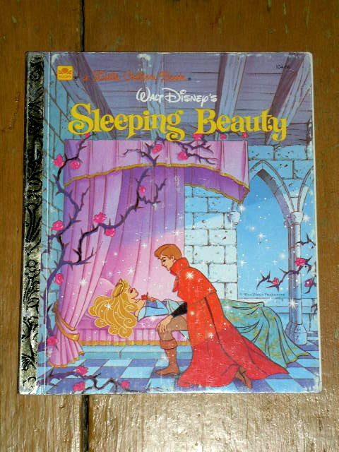 Sleeeping Beauty, Little Golden Book, Second Printing