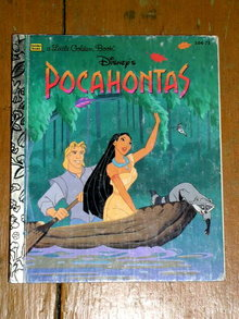 Pocahontas, Little Golden Book, Second Printing