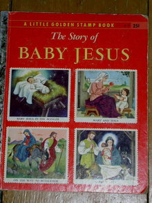The Story of Jesus, Little Golden Stamp Book, First Printing
