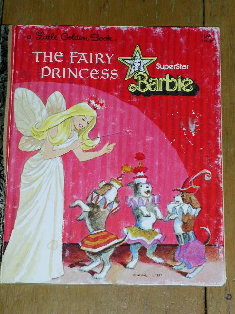 Superstar Barbie, Little Golden Book, Second Printing