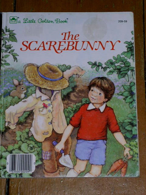 The Scarebunny, Little Golden Book, First Printing