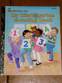 My Kindergarten Counting Book, Little Golden Book, Second Printing