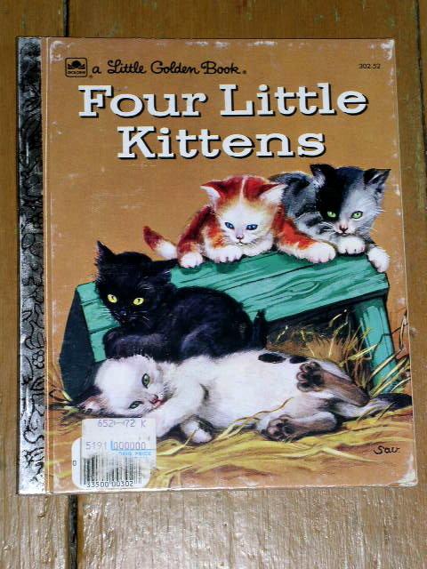 Four Little Kittens, Little Golden Book, First Printing