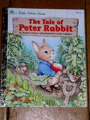 The Tale of Peter Rabbit, Little Golden Book, First Printing