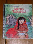 Little Red Riding Hood, Little Golden Book, First Printing